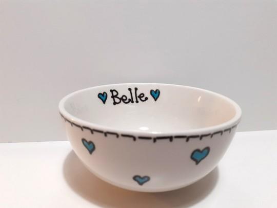 Personalised breakfast bowl