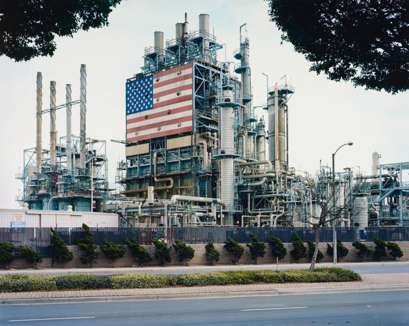 Mitch Epstein (b. 1952) BP Carson Refinery, California 2007, 2006-2007 Chromogenic Print