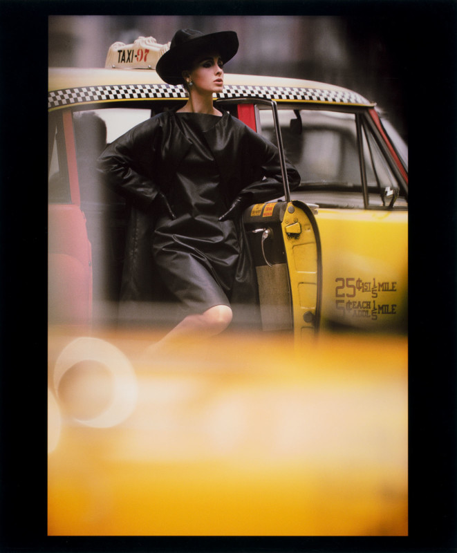 William Klein (b. 1928) Antonia + Yellow Taxi, New York, 1962 Chromogenic Print L2020.102.140