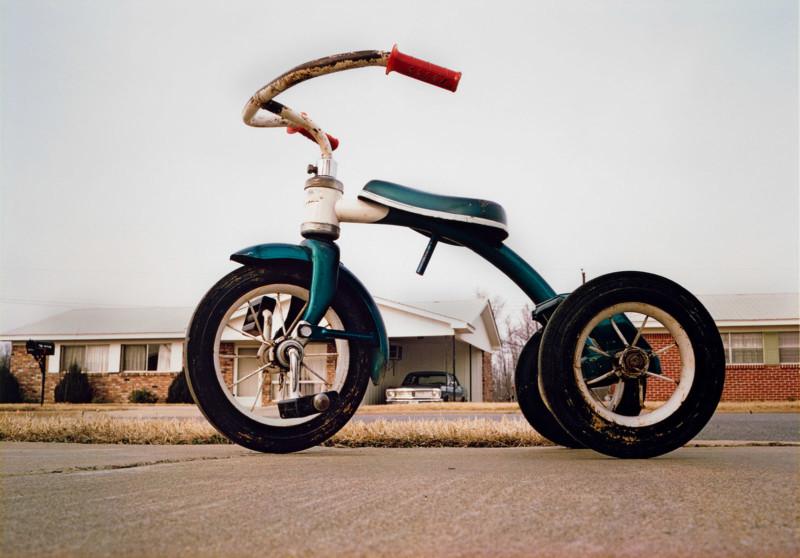 William Eggleston (b. 1939) Memphis (Tricycle), ca. 1970 Dye transfer print L2020.102.81