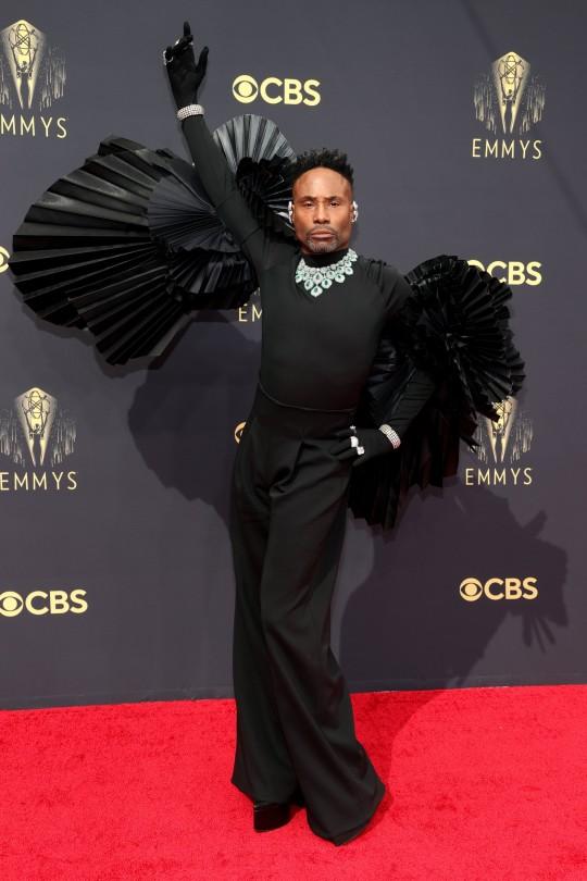 Billy Porter attends the 73rd Primetime Emmy Awards at L.A. LIVE on September 19, 2021