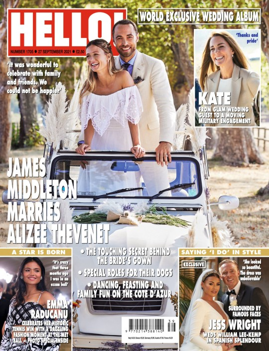 Jess Wright's wedding is exclusively in Hello! magazine