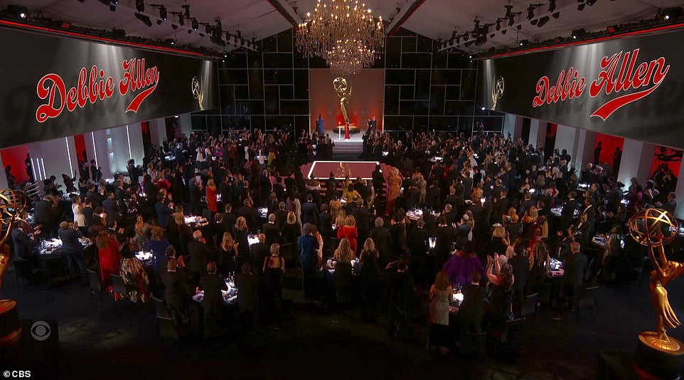 Spacious: The 2021 ceremony was taking place at L.A. Live's Event Deck in Downtown Los Angeles . The space offers indoor and outdoor locations, but the main ceremony was held indoors