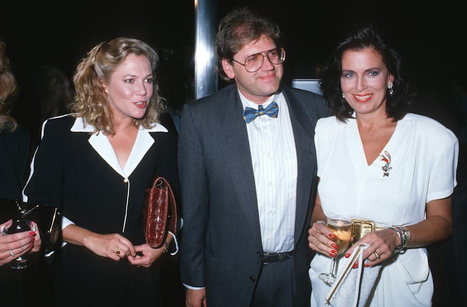 Kathleen Turner, Roger Zemeckis and guest during