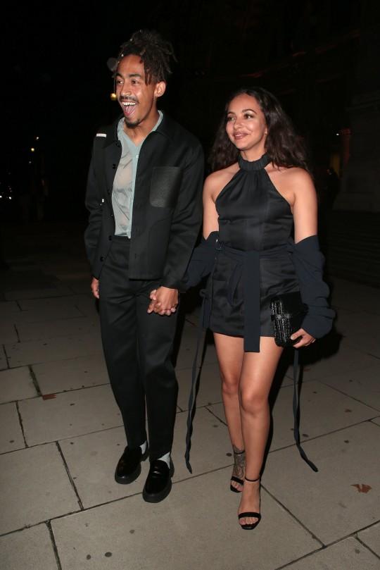 Jade Thirlwall and Jordan Stephens at London Fashion Week