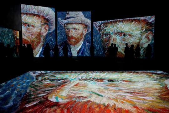 Van Gogh Alive in Sydney, Australia, in 2020