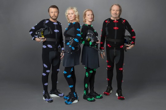 Bjorn Ulvaeus, Agnetha Faltskog, Benny Andersson and Anni-Frid Lyngstad, of the Swedish band Abba announce Abba Voyage
