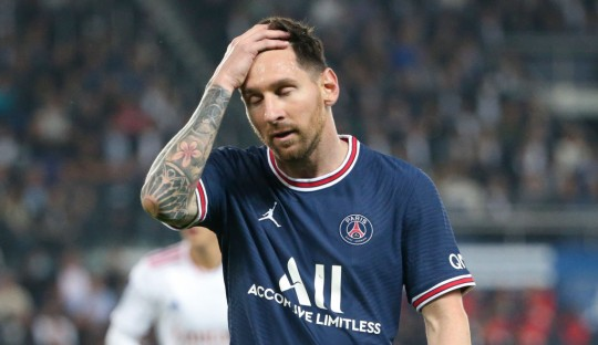 Lionel Messi is still waiting to score his first goal for PSG