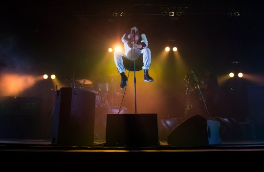 Ricky Wilson of the Kaiser Chiefs performing during Isle Of Wight Festival 2021