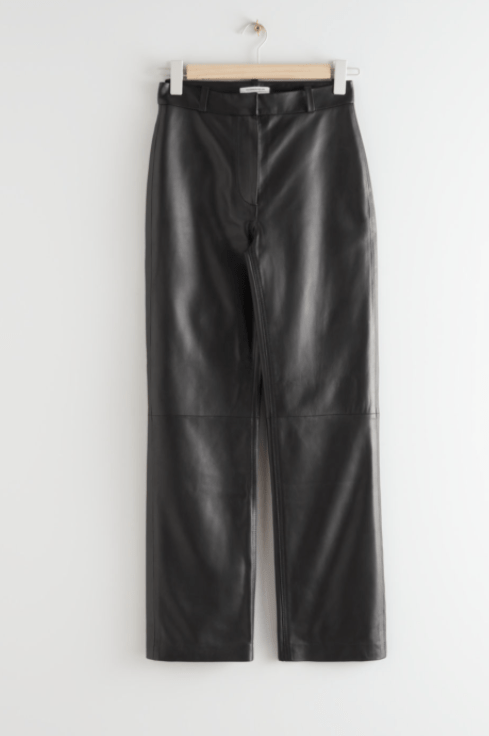 & Other Stories kick flare trousers