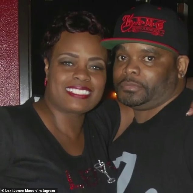 Tough times: His wifeLexis Jones Mason revealed to TMZ on Wednesdaythat she and her family are struggling to pay for her husband's funeral cost as their attempt at raising money on GoFundMe has fallen significantly short