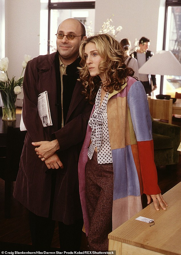 Iconic role:Garson famously played the role of Stanford 'Stanny' Blatch, who was the male BFF to Sarah's Carrie Bradshaw on the series that spanned from 1998 to 2004. He starred in 27 of the show's 98 episodes; Willie and Sarah pictured in 1998