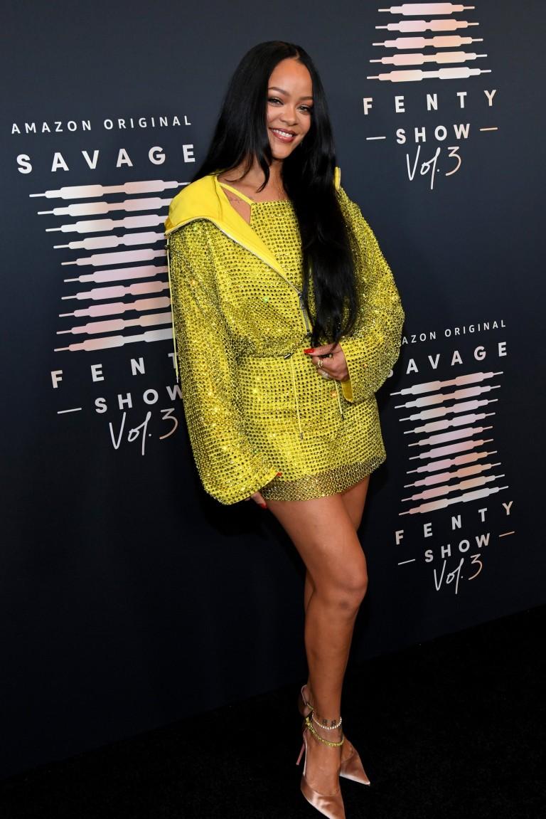 Rihanna attends Rihanna's Savage X Fenty Show Vol. 3
