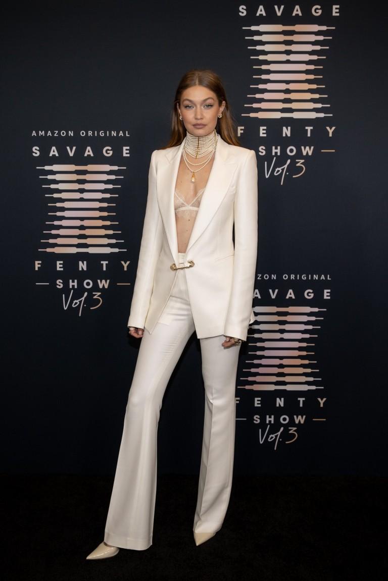 Gigi Hadid attends Rihanna's Savage X Fenty Show Vol. 3