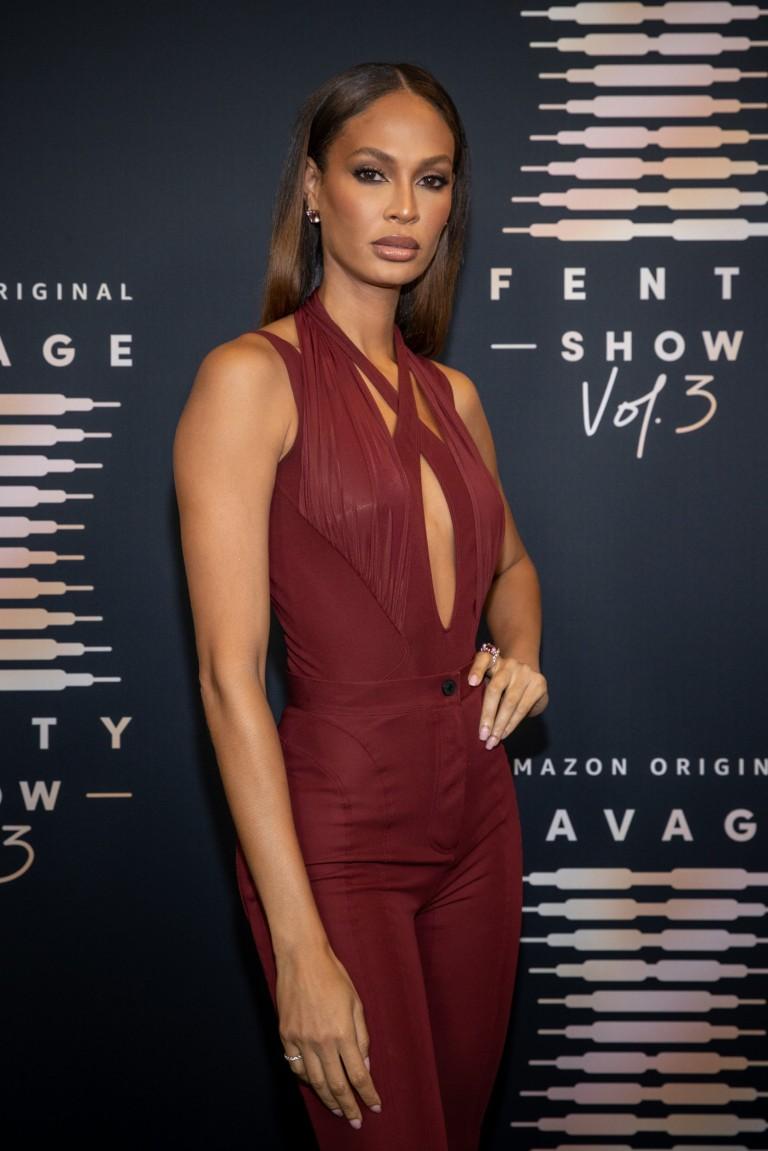 Joan Smalls attends Rihanna's Savage X Fenty Show Vol. 3