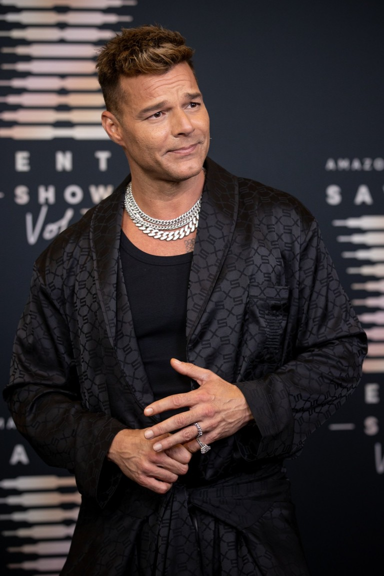 Ricky Martin attends Rihanna's Savage X Fenty Show Vol. 3 presented by Amazon Prime Video at The Westin Bonaventure Hotel & Suites in Los Angeles