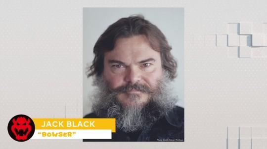 Jack Black as Bowser