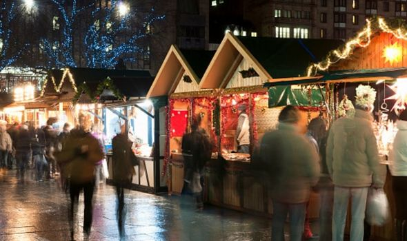 Christmas markets UK 2021: