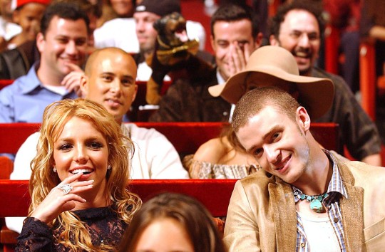Britney Spears and Justin Timberlake.