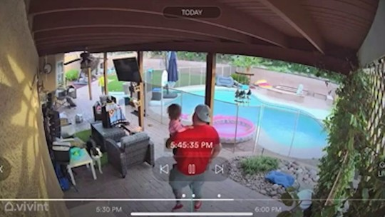 Terrifying moment a father discovered the ?bug? his toddler daughter had caught was actually a MASSIVE TARANTULA