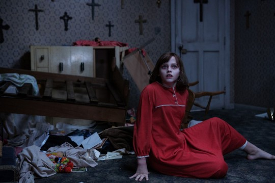 Editorial use only. No book cover usage. Mandatory Credit: Photo by Moviestore/REX (5550477a) Madison Wolfe The Conjuring 2 - 2016