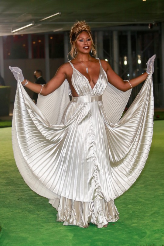 Laverne Cox attends the Academy Museum of Motion Pictures gala in Los Angeles, California, U.S., September 25, 2021. Picture taken September 25, 2021. REUTERS/Ringo Chiu