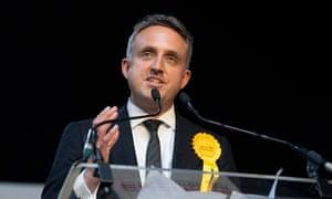 Scottish Liberal Democrat leader Alex Cole-Hamilton.