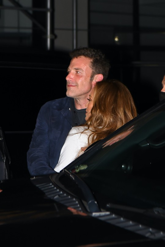 Ben Affleck and Jennifer Lopez are seen after Global Citizen Live