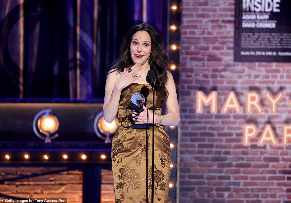 Changed:Parker said in a brief interview after winning her second Tony that she feels like, 'they changed them,' meaning the statuette
