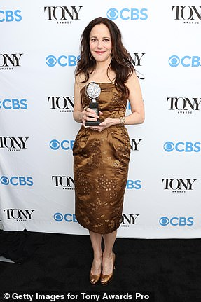 Earned it:Mary-Louise Parker won Best Performance by a Leading Actress in a Play for The Sound Inside