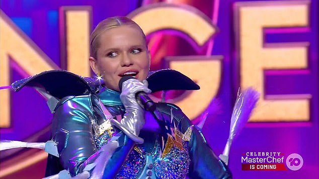 Surprise!The mystery celebrity behind the mask was revealed to be Cody Simpson's sister Alli Simpson