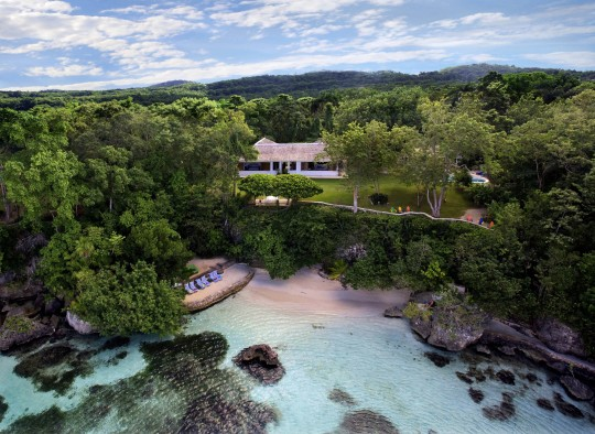 Undated handout photo issued by UPI of Ian Fleming's 'Goldeneye' villa in Jamaica, as it has been announced at an event in the country that Oscar winner Rami Malek and Captain Marvel star Lashana Lynch were among those joining the cast of Bond 25. Killing Eve creator Phoebe Waller-Bridge is also being brought on board to co-write.