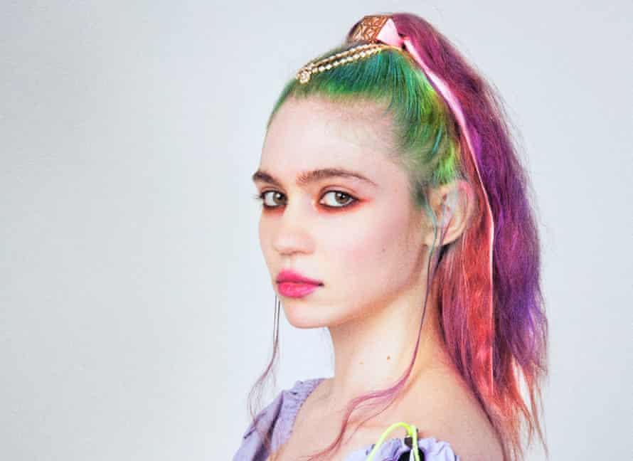 E-girl ... Grimes.