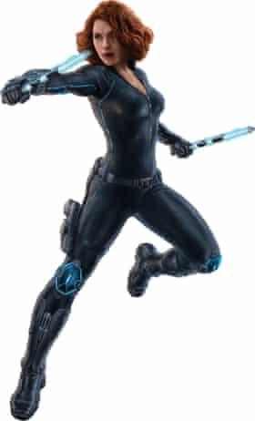 Warcore ... Scarlett Johansson in Avengers: Age of Ultron.