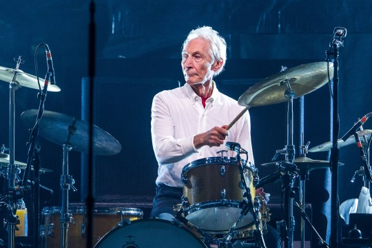 Mandatory Credit: Photo by Keuenhof Rainer/Action Press/REX/Shutterstock (9125492d) Charlie Watts No Filter Tour 2017: The Rolling Stones live at the Esprit Arena, Duesseldorf, Germany - 09 Oct 2017