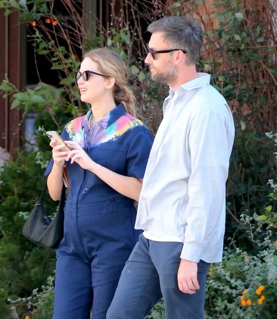 Jennifer Lawrence and husband Cooke Maroney