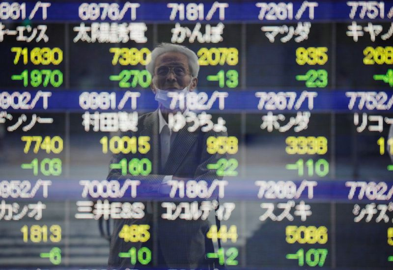 Asian stock markets wobble as China Evergrande woes sap confidence