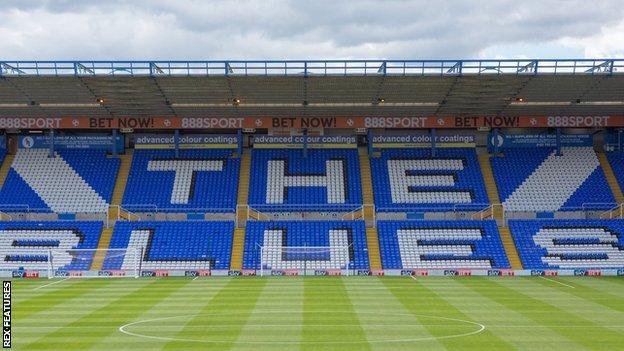 Birmingham City's Kop Stand