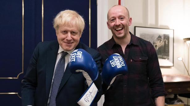 Boris Johnson and Lee Cain