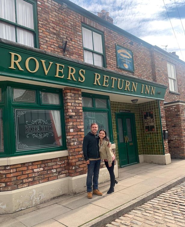 Ruxandra Porojnicu has confirmed her exit from Coronation Street