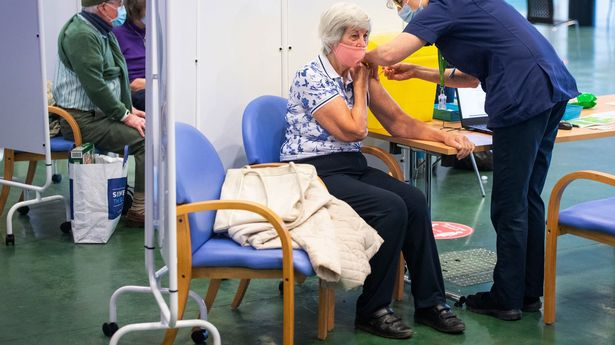 Britain's elderly and vulnerable people were prioritised first - and will be first in line for boosters