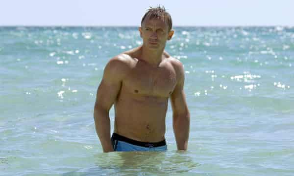 Daniel Craig in Casino Royale.
