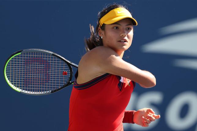 British sensation Emma Raducanu thrashed Sara Sorribes Tormo at the US Open