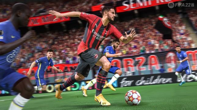 Fifa 22 gameplay screenshot