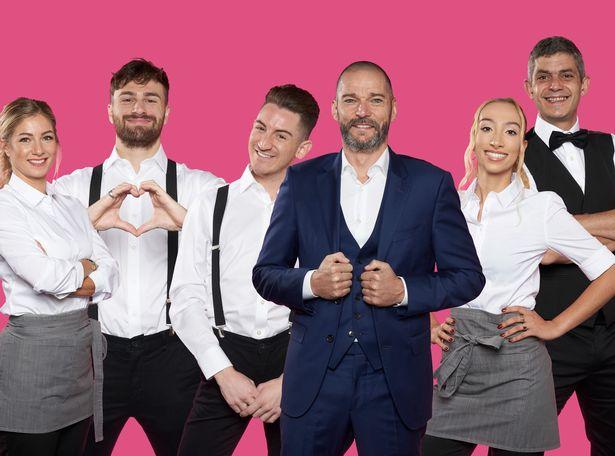 Cici, Grant, David, Fred, Daniella and Merlin