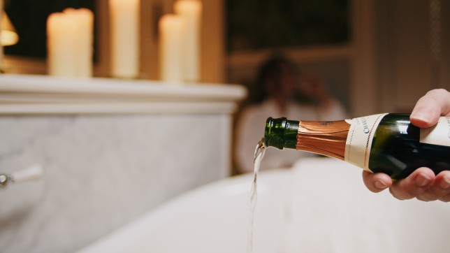 First of its kind UK spa experience lets you bathe in champagne and gold