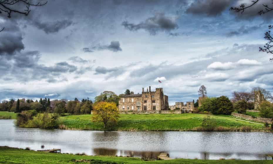 Ripley Castle and gardens, North Yorkshire, UK