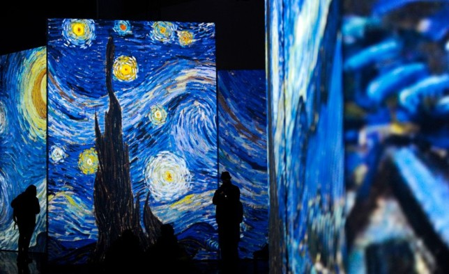 Van Gogh Alive, pictured in Seville, Spain in 2018