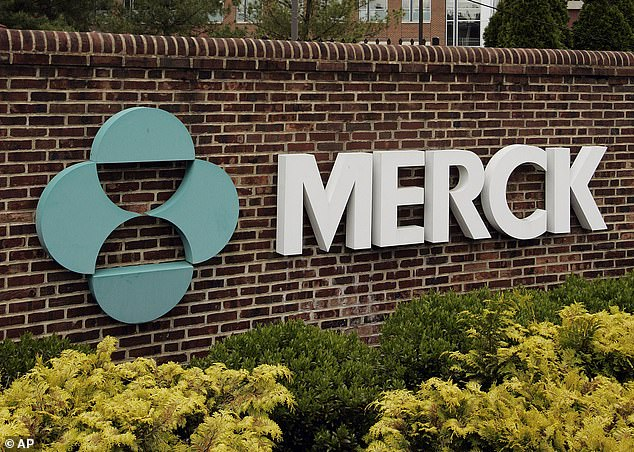 Merck, developer of ivermectin, has begun late-stage trials for the drug molnupiravir that could actually prevent transmission of COVID-19 (file photo)