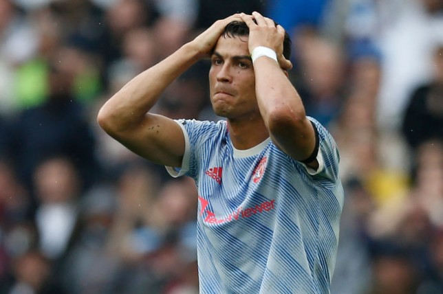 Ronaldo believes he should have had three spot kicks against the Hammers.